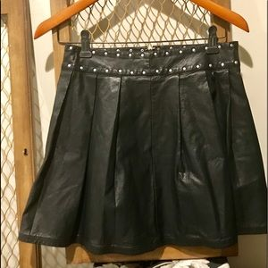 New Urban Outfitters Silence + Noise Moto Skirt